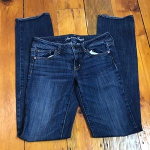 American Eagle Outfitters Jeans - American Eagle Dark Wash Straight Leg Jeans